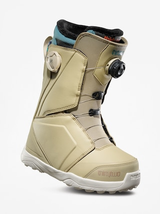 Boty na snowboard ThirtyTwo Lashed Double Boa Wmn (tan/blue)