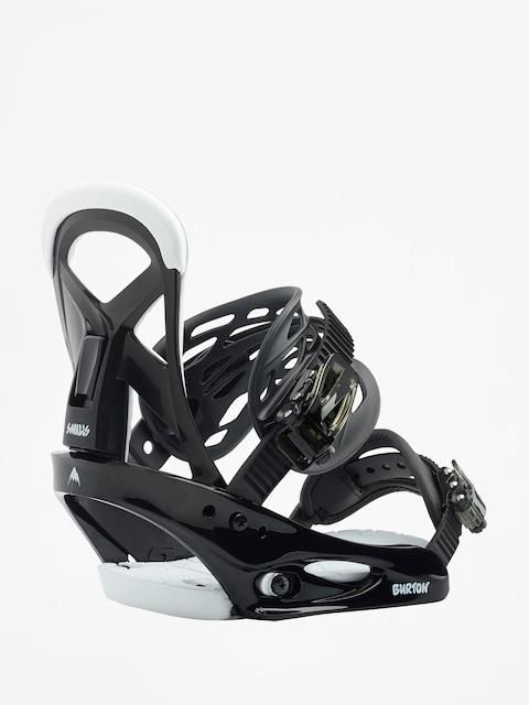 Snowboardové vázání Burton Smalls (black)