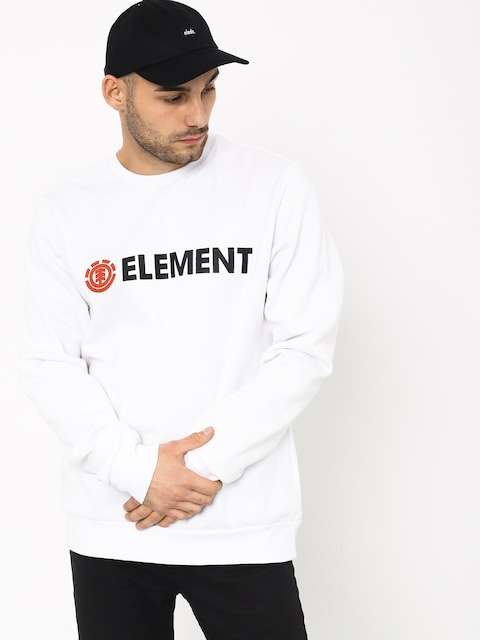 Mikina Element Blazin Crew (optic white)