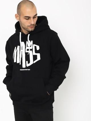 Mikina s kapucí MassDnm Crown HD (black)