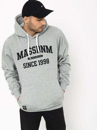 Mikina s kapucí MassDnm Campus HD (light heather grey)