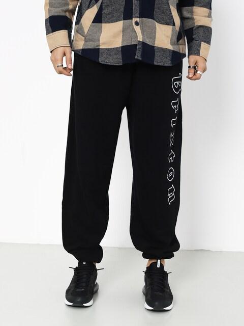 Kalhoty Brixton Proxy Sweatpant (black/white)