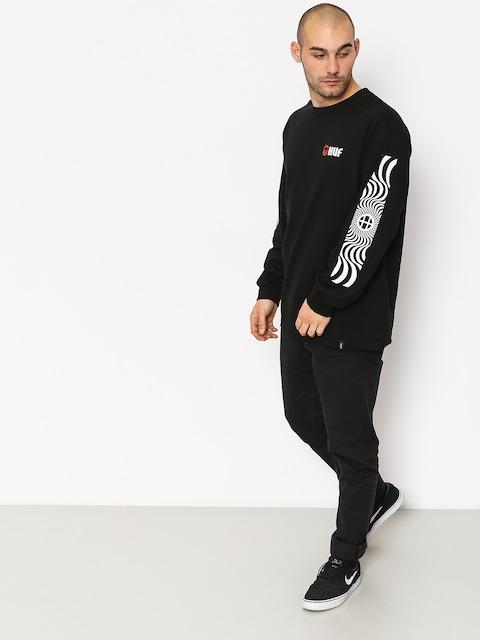 Triko HUF Spitfire Swirls (black)