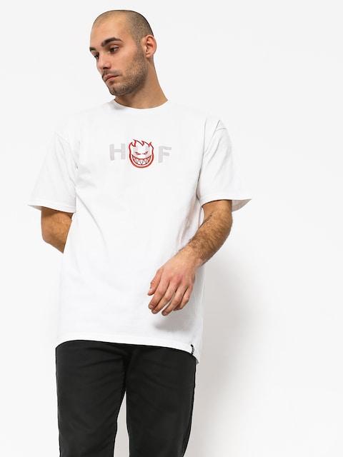 Tričko HUF Spitfire Og Logo (white)