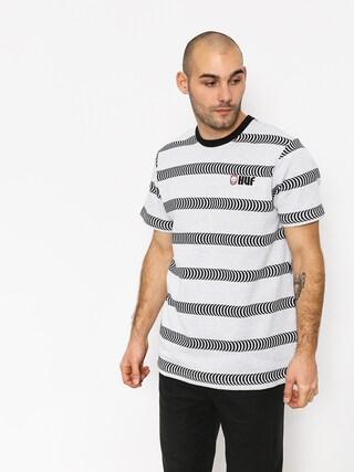 Tričko HUF Spitfire Striped Knit (white)