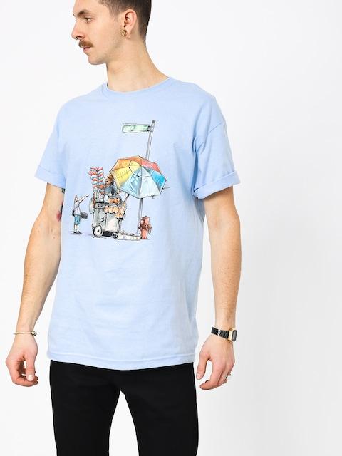Tričko DGK Vendor (powder blue)