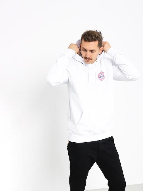 Mikina s kapucí Nervous Arcade HD (white)