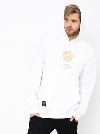 Mikina s kapucí MassDnm Golden Crown HD (white)