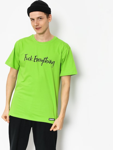 Tričko Diamante Wear Fuck Everything (green)