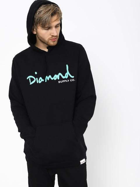 Mikina s kapucí Diamond Supply Co. Og Script HD