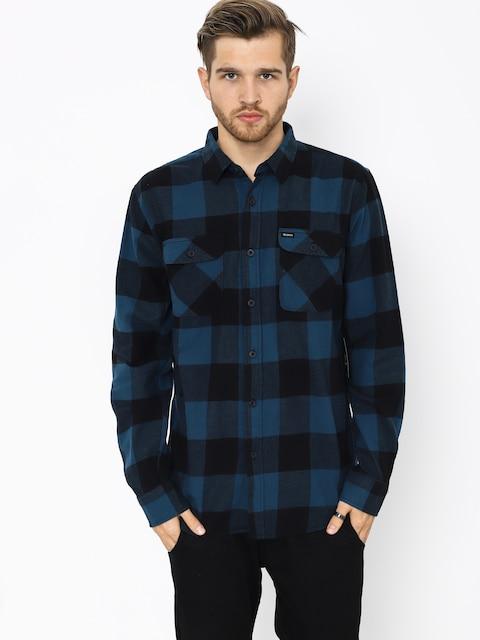 Košile Brixton Bowery Lw Ls (black/teal)