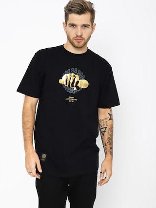 Tričko MassDnm Golden Mic (black)