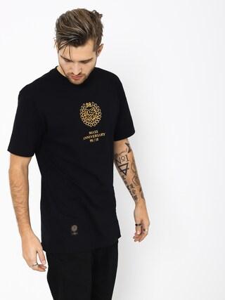 Tričko MassDnm Golden Crown (black)