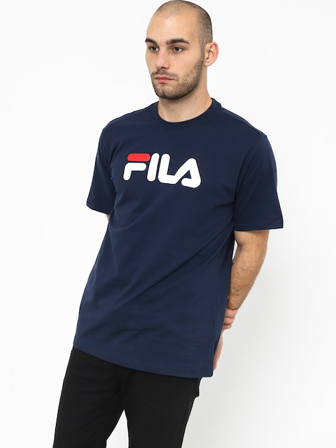 Tričko Fila Pure Short Sleeve Shirt (black iris)
