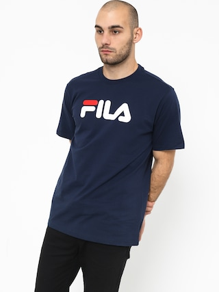 Triu010dko Fila Pure Short Sleeve Shirt (black iris)