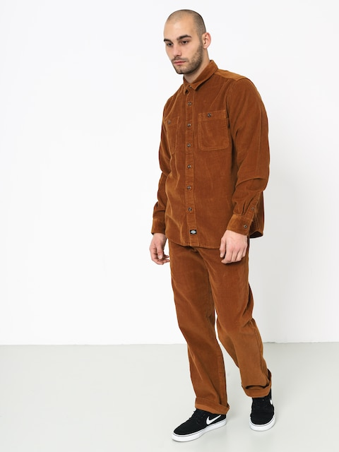 Košile Dickies Arthurdale (brown duck)