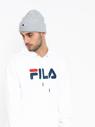Mikina s kapucí Fila Pure HD (bright white)