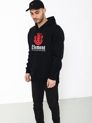 Mikina s kapucí Element Vertical HD (flint black)