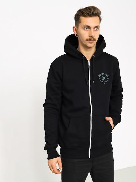 Mikina s kapucí Nervous Gang ZHD (black)