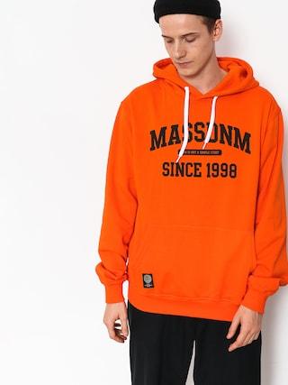 Mikina s kapucí MassDnm Campus HD (orange)