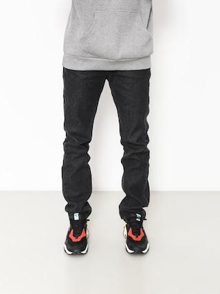 Kalhoty MassDnm Classics Jeans Straight Fit (black rinse)