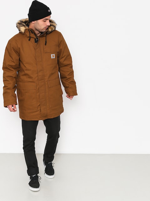Bunda Carhartt WIP Siberian (hamilton brown rigid)