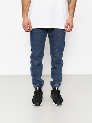 Kalhoty MassDnm Base Jogger Jeans Sneaker Fit (blue)