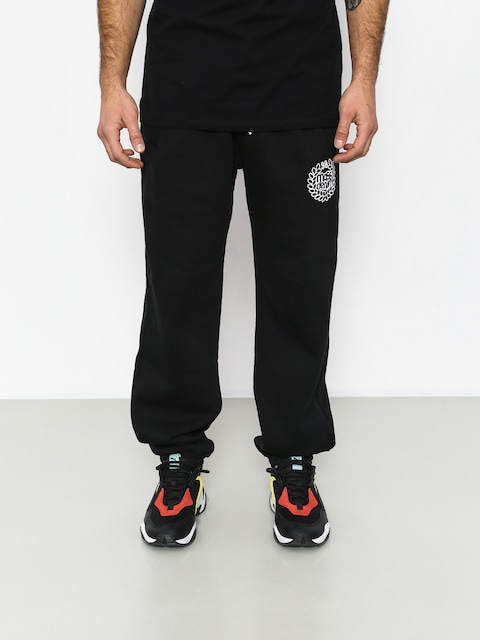 Kalhoty MassDnm Base Regular Fit (black)