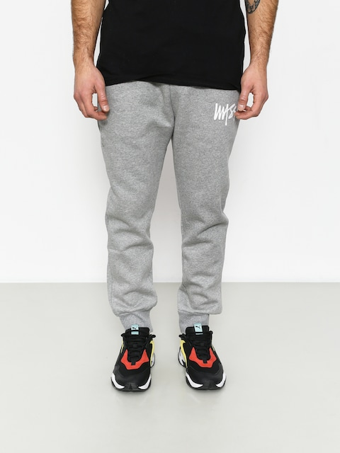 Kalhoty MassDnm Signature Trap Fit (light heather grey)