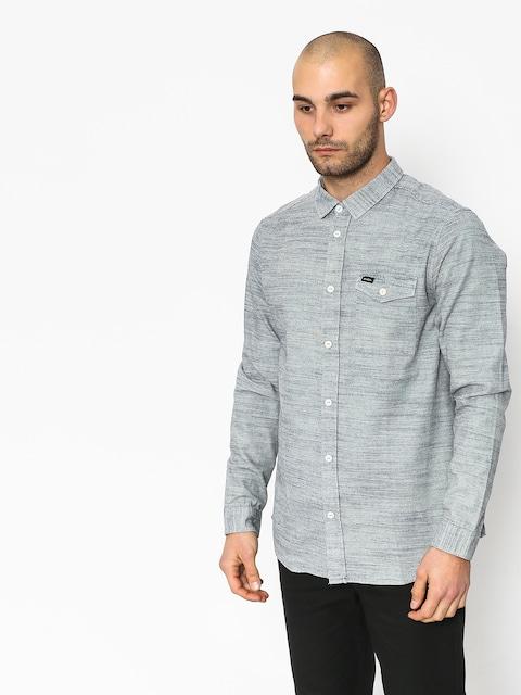 Košile RVCA Honest Ls (silver bleach)