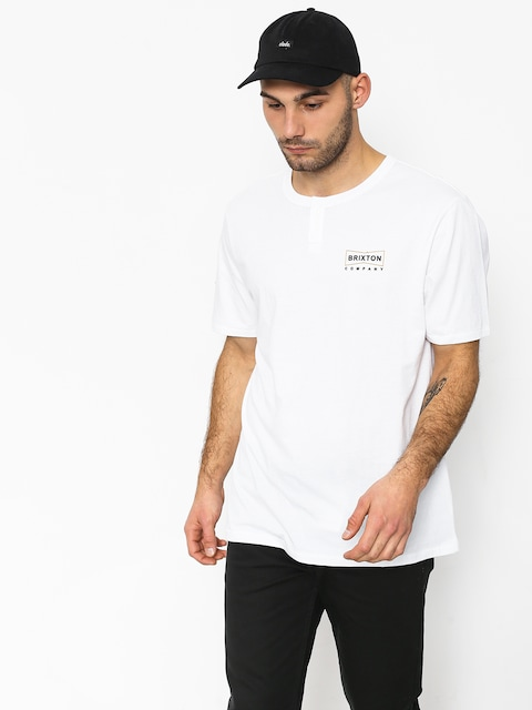 Tričko Brixton Wedge Hnly (white)
