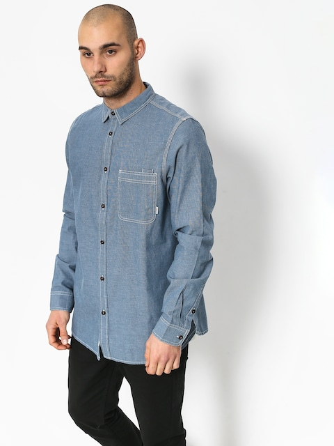 Košile Element Preston Ls (blue chambray)