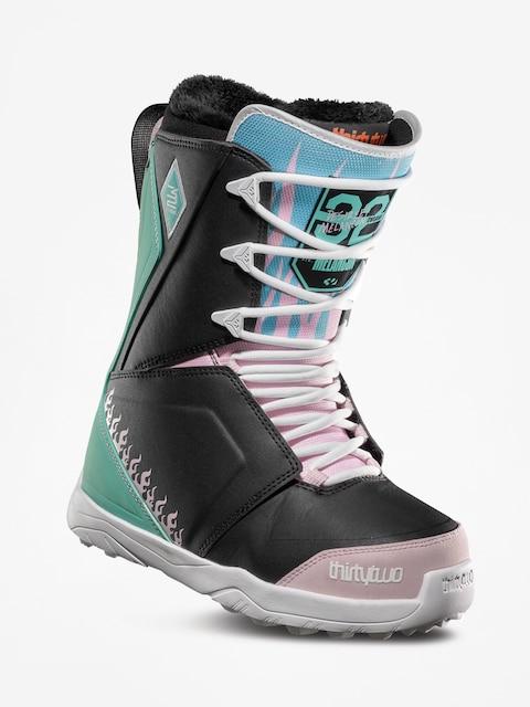 Boty na snowboard ThirtyTwo Lashed Melancon Wmn (black/pink/green)