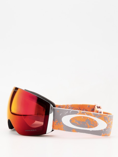 Brýle na snowboard Oakley Flight Deck (arctic fracture orange/prizm snow torch iridium)