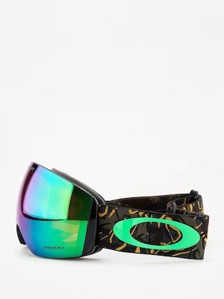 Brýle na snowboard Oakley Flight Deck (camo vine jungle/prizm snow jade iridium)