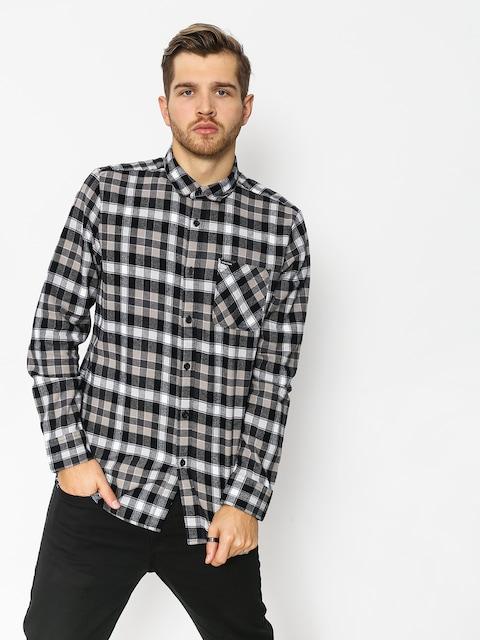 Košile Volcom Caden Plaid (blk)
