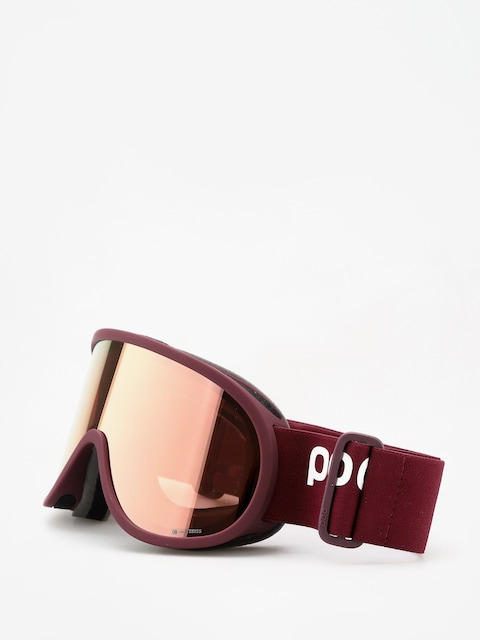 Brýle na snowboard POC Retina Clarity (lactose red/spektris rose gold)
