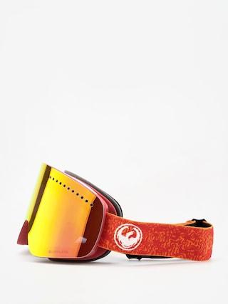 Bru00fdle na snowboard Dragon NFX (maze/lumalens red ion/lumalens rose)