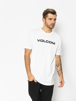 Tričko Volcom Crisp Euro Bsc (wht)