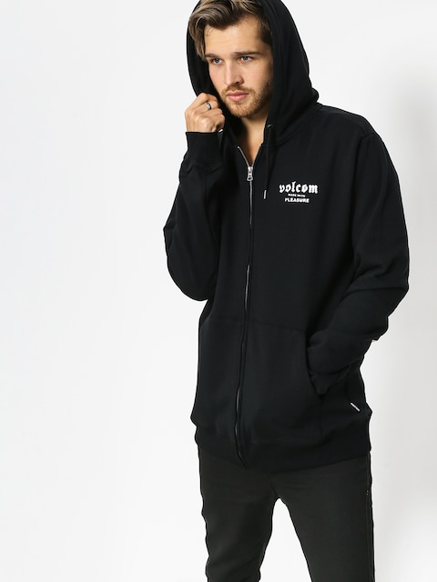 Mikina Volcom Supply Stone ZIP (blk)