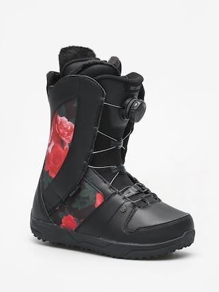 Boty na snowboard Ride Sage Wmn (black rose)