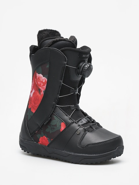 Boty na snowboard Ride Sage Wmn (black rose)