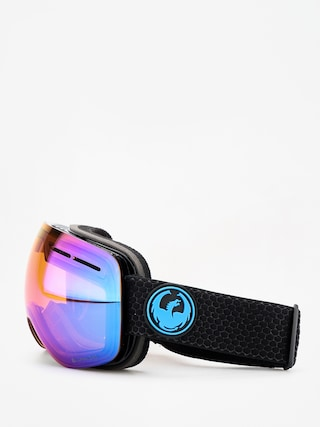 Bru00fdle na snowboard Dragon X1s (split/lumalens blue ion/l amber)
