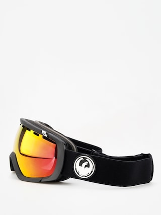 Bru00fdle na snowboard Dragon Rogue (black/lumalens red ion/l rose)