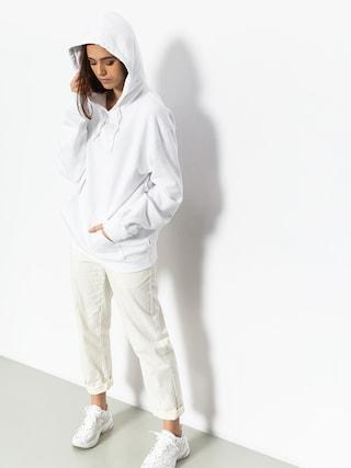 Mikina s kapucí Vans Overtime HD (white)