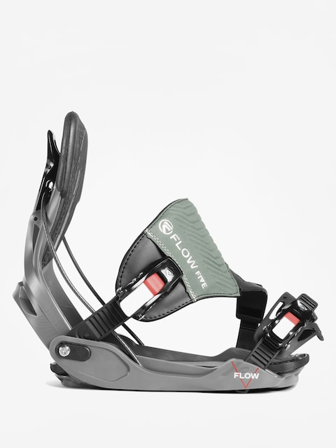 Snowboardové vázání Flow Five Hybrid (space grey)