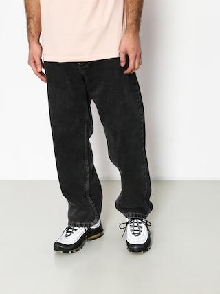 Kalhoty Polar Skate 93 Denim (black)