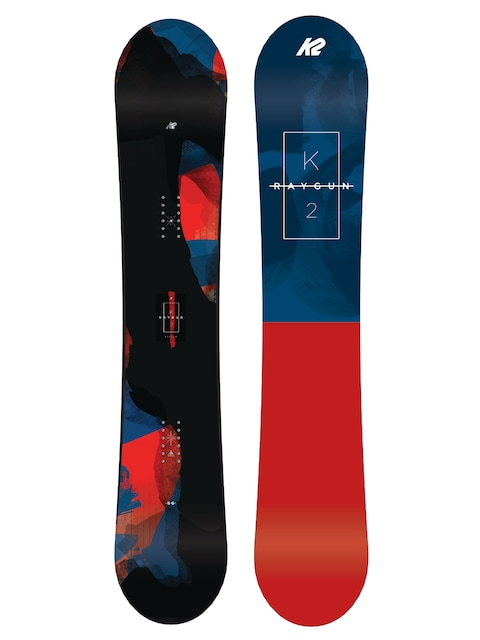 Snowboard K2 Raygun (navy/red)