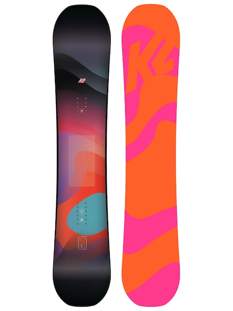 Snowboard K2 Bright Lite Wmn (orange/pink)