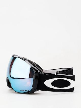 Bru00fdle na snowboard Oakley Airbrake XL (jet black/prizm sapphire iridium & prizm hi pink iridium)